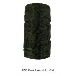 Bankline No. 36 schwarz Bank Line  1lb-Roll Rolle 470 ft