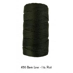 Bankline No. 36 schwarz Bank Line  1lb-Roll Rolle 470 ft