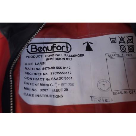 GB Rettungsanzug Passagieranzug orange MK1 Beaufort