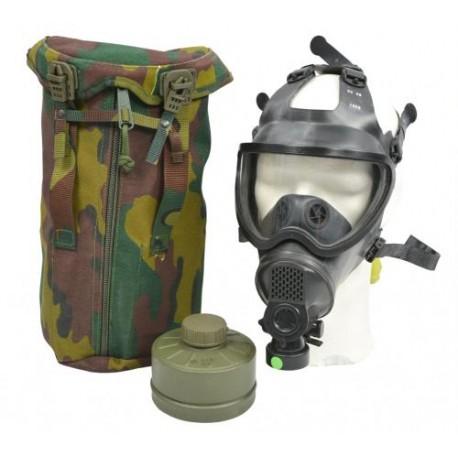 BE belg. Schutzmaske BEM-4GP 4GP Gasmaske Schutzmaskentasche Filter