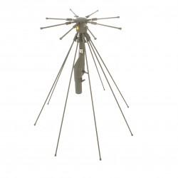 SWE schwedische Rundstrahlantenne M1921-129110 100-160 MHz Armee Antenne