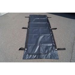 US Army Leichensack Body Bag Transportsack Gummi Unfallsack schwarz