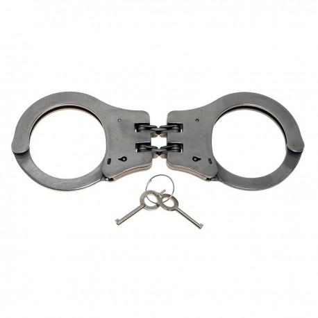 Handschellen, mit Doppelkette, stabile Ausführg., 2 Schlüssel