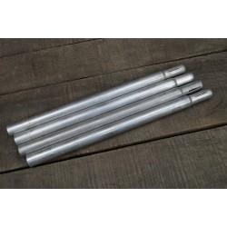 BW Bundewehr Zeltstange Zeltgestänge Aluminium 4er Set
