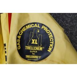 CSA TRELLCHEM SUPER XL Chemie Schutzanzug Gummianzug Trockenanzug