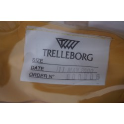 TRELLBORG CPS BEADLE 2000 Chemie Schutzanzug Gummianzug Trockenanzug