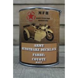 Militärfarbe COYOTE MATT Militärlack Farbe 1000 ml 1 Liter Dose