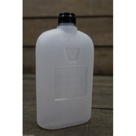 SWE schwedische Spiritusflasche Kunststoff Flasche 0,3 l Trangia Petromax Armee