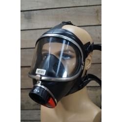 Auer Dräger NOVA silber-rot  Atemschutzvollmaske PE Überdruck MSA