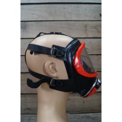 Auer Dräger NOVA rot-rot  Atemschutzvollmaske PE Überdruck MSA