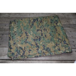 US USMC Tarp shelter sheet Basha marpat DEFEKT