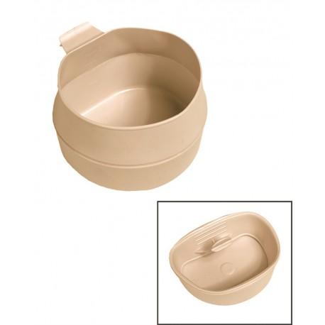 WILDO Fold-a-cup Falttasse 200 ml 0,2 l beige khaki