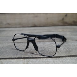 BW Bundeswehr ZEISS Systemtäger Fassung für Brille Pilotenbrille Lupenbrille