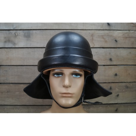 IT ital. Panzer Helm M35 Leder 2.Weltkrieg tank helmet leather