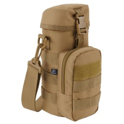 Bottle Holder II rund Tasche Holster MOLLE Schultergurt coyote tan