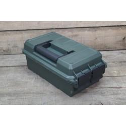 US Munitionskiste klein Kunststoff oliv Transportbox Ammo box abschließbar