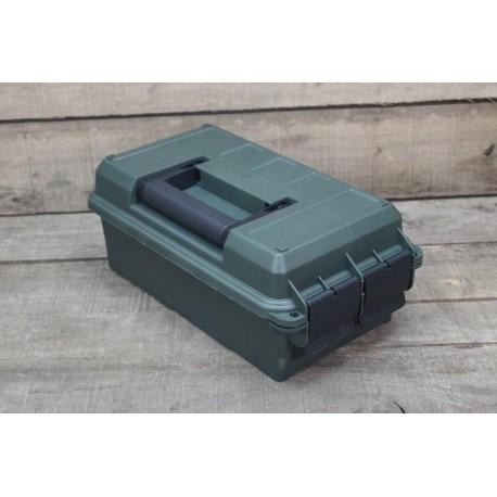 us munitionskiste klein kunststoff oliv transportbox ammo box abschlie bar military basics. Black Bedroom Furniture Sets. Home Design Ideas