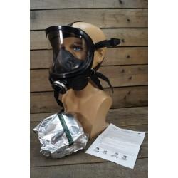 Schutzmaske Vollgesichtsmaske Panoramamaske Gasmaske ABC Schutz Armee Fernez NEU