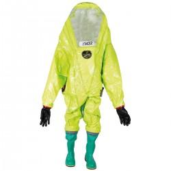 "CSA RESPIREX ""Chemical Protective"" Chemie Schutzanzug Gummianzug Trockenanzug"