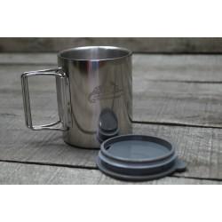 HELIKON-TEX Edelstahl Tasse Trinkbecher Thermo cup TK-TK1-SS-15