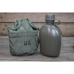 Orig. US Feldflasche 1qt oliv Feldflaschentasche