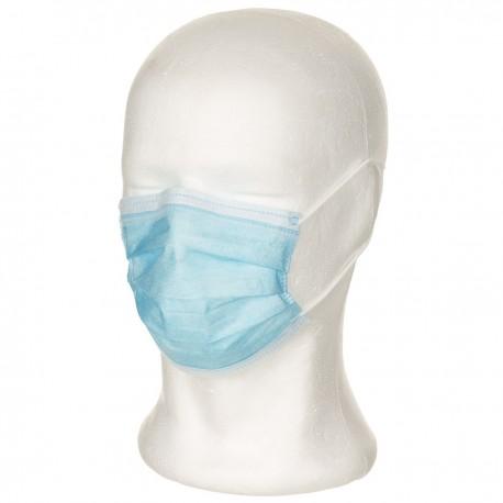 10 Stück Mundschutz blau Gummiband Earloops Maske Face