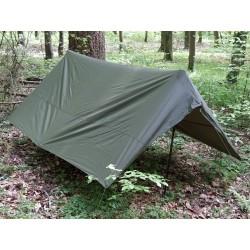 Fr französisches Überdach für Zweimannzelt 2 Personen Zelt oliv