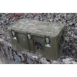 Army Military CASE Transportbox Transportkiste Kiste Outdoor box oliv 40 Liter
