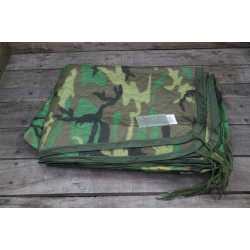 US Army Poncholiner Poncho Liner woodland original LINER WET WEATHER Decke