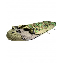 SCHLAFSACKHÜLLE Schlafsack Überzug Cover sleeping bag MODULAR woodland