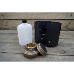 SWE Schwedischer Spiritus Kocher Windschutz Spiritusflasche für Kochgeschirr