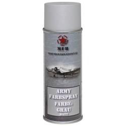 ARMY Farbspray GRAU MATT Militärlack Militärfarbe Sprühdose Spraylack Farbe 400ml