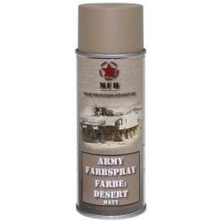ARMY Farbspray DESERT MATT Militärlack Militärfarbe Sprühdose Spraylack Farbe 400ml