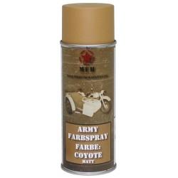 ARMY Farbspray COYOTE MATT Militärlack Militärfarbe Sprühdose Spraylack Farbe 400ml