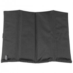 Sitzkissen schwarz faltbar
