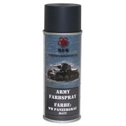 ARMY Farbspray PANZERGRAU MATT Militärlack Militärfarbe Sprühdose Spraylack Farbe 400ml